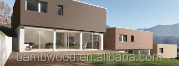 Good Simple Installation Exterior Facade Wood Plastic Composite Wall Panel