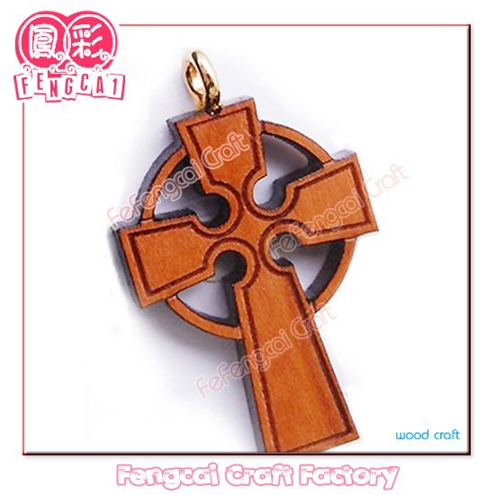 Wood cross Religious gift(wooden crafts in laser-cutting & engraving)