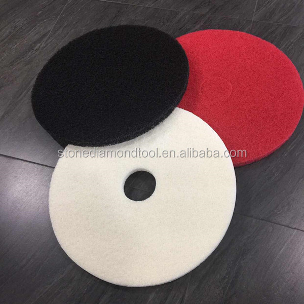 17 Inch Concrete Floor Cleaning And Polishing Pad