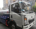 HOWO new light truck 5000L water transportation truck water bowser