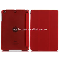 Newest Folding Case with Crystal Back Cover for iPad Mini 2,for ipad Mini