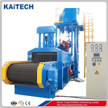 Hot sales QWD Wire mesh shot blasting equipment for cleaning