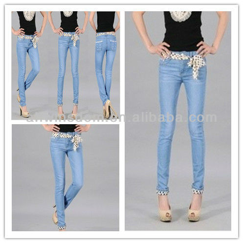 2013 NEW WOMEN'S THIN JEANS,CASUAL PANTS,KOREAN TIGHT-FITTING PANTS