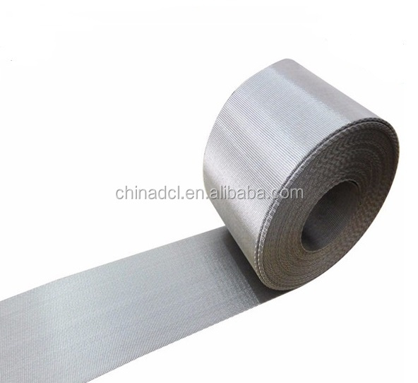 Auto Mesh Belt Filter/SS 304 Reverse Dutch Weave Wire Mesh Belt For Plastic Extrusion