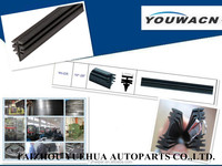 car wiper silicone rubber refill rubber manufacturer