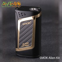 2017 100% Authentic 220W SMOK Alien Kit With 3ml TFV8 Baby smoking electronic