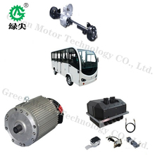 15kw 168v High torque electric sightseeing/shuttle bus