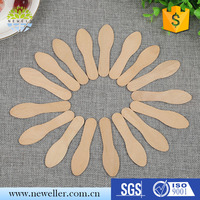 Round newell model ice cream sticks With high quality