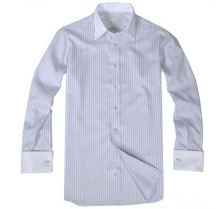 Most popular novel design french cuff dress shirts fast shipping