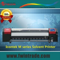 High-producing fast speed Icontek large format solvent printer