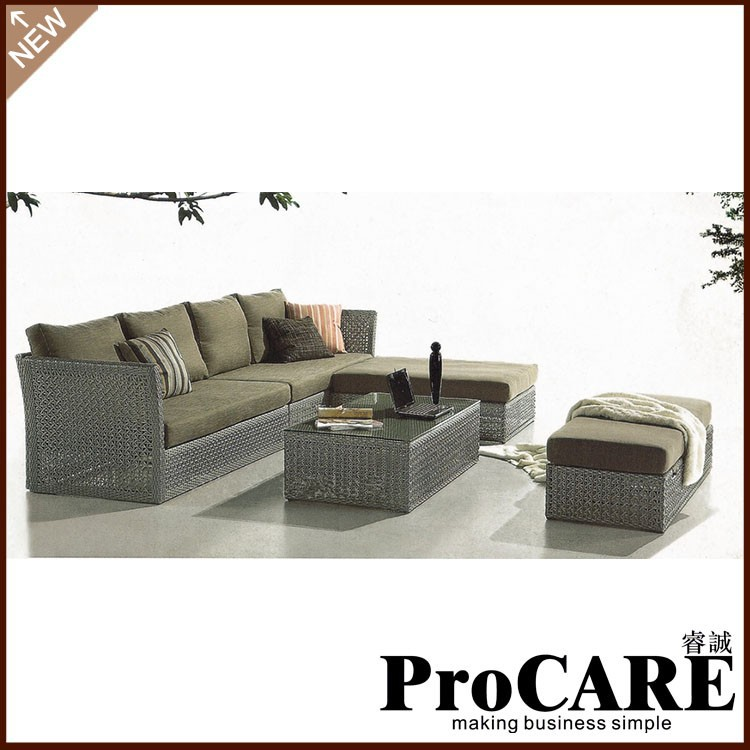 wholesale newest products outdoor leather furniture