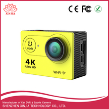 Hot selling H9/Q3/F60 30FPS 4K 1080P 170 wide angle lens sport action camera waterproof WIFI camera