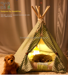 Ningbo Korea inidan dog bed tents Pet bed dog beds