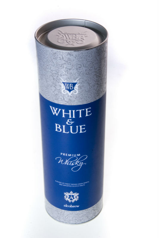 White and Blue Whisky