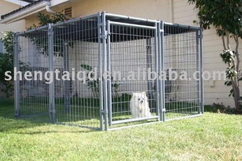 3mx3mx1.8m collapsible metal dog cage
