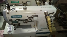 Low price used SIRUBA cover stich sewing machine
