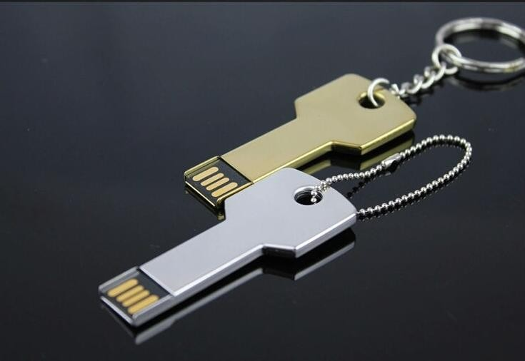 Metal Key USB Flash Drive Promotion Gifts Cheap 8GB USB Flash Drive with 1 Years Warranty