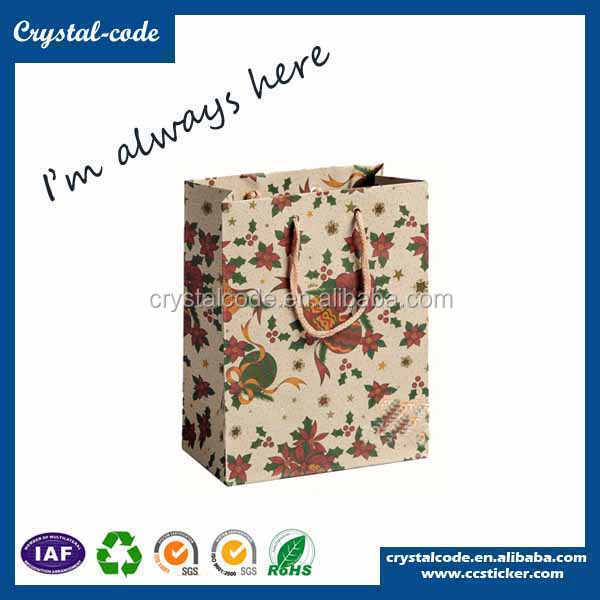Wholesale print company names brown paper lunch bags imported from china