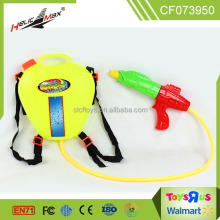 hot plastic cartoon water bottle backpack water gun toys for kids chenghai
