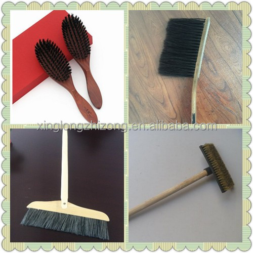 2016 high quality pig hair and wooden handle cheap bristle brushes