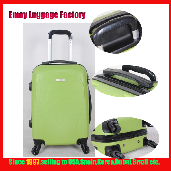 2016 Hot sale Top 5 ABS Trolley Hard case Luggage