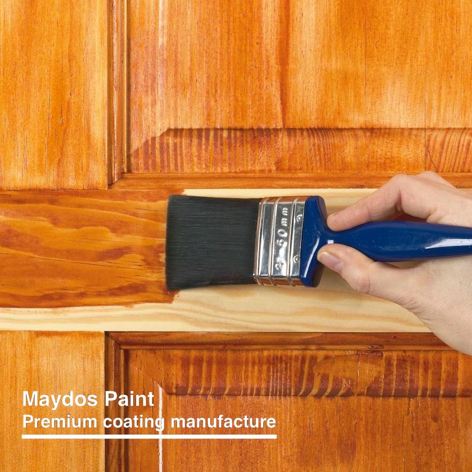 Spray polyurethane wood furniture varnish paint