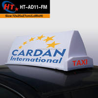 Car top advertising outdoor led display signs