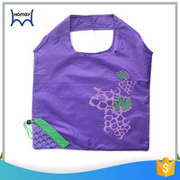 Cheap reusable fruit shape polyester foldable shopping eco bag