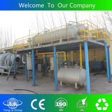 Hotest sales scrap plastic recycle device to fuel oil in Canton fair