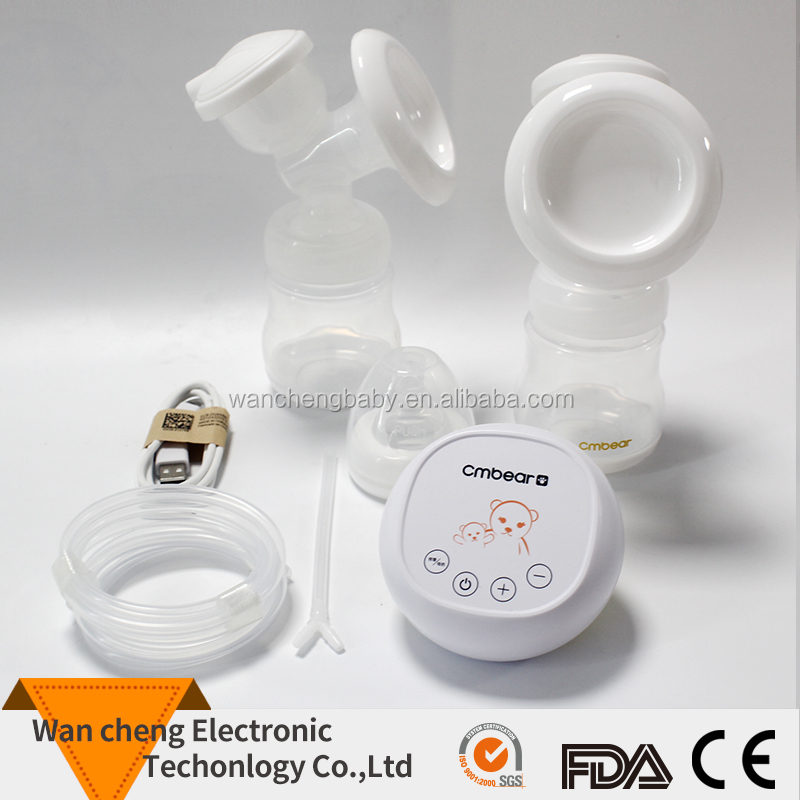 BPA Free Doopser Double Breast Pump Electric Silicone Breast Pump