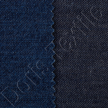 Charcoal Navy Crisp thick Cotton Denim Product