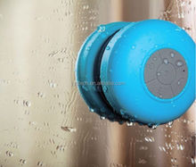 Portable Shower Speaker Car Handsfree Receive Call Phone Mic Wireless Suction Cup Vatop Waterproof BT Speaker