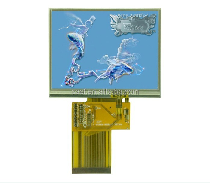 3.5 inch tft lcd display resistance touch screen 320*(RGB)*240 with RGB interface & white backlight