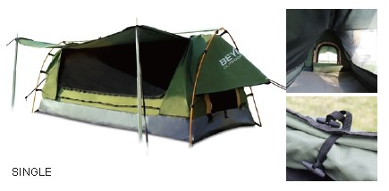 Beyond outdoor KING CANVAS SINGLE SWAG Tent