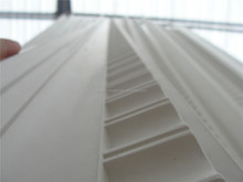 white gypsum cornice / for ceiling corner/ insect prevention