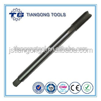 TG Tools hss straight flute taps profession power tools with long shank machine tap