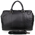7322A J.M.D OEM Vendor Small Men Leather Sports Sky Luggage Storage Travel Bag