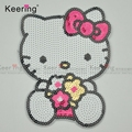 Lovely Kitty Cat Sequin Patches Embroidery Designs for Kids