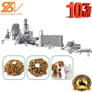 Full-auto dog food production line
