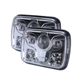 24v sealed beam headlamp, led 5x7 square headlight