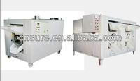 Gas Heating type Peanut Beans Groundnuts Monkey Nuts Nuts Melon Seed Cashew Roasting Machine Processing Machine