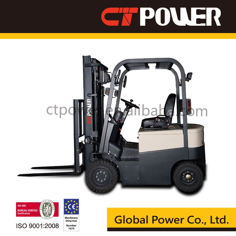 Electric full AC motor forklift truck with 48v China battery