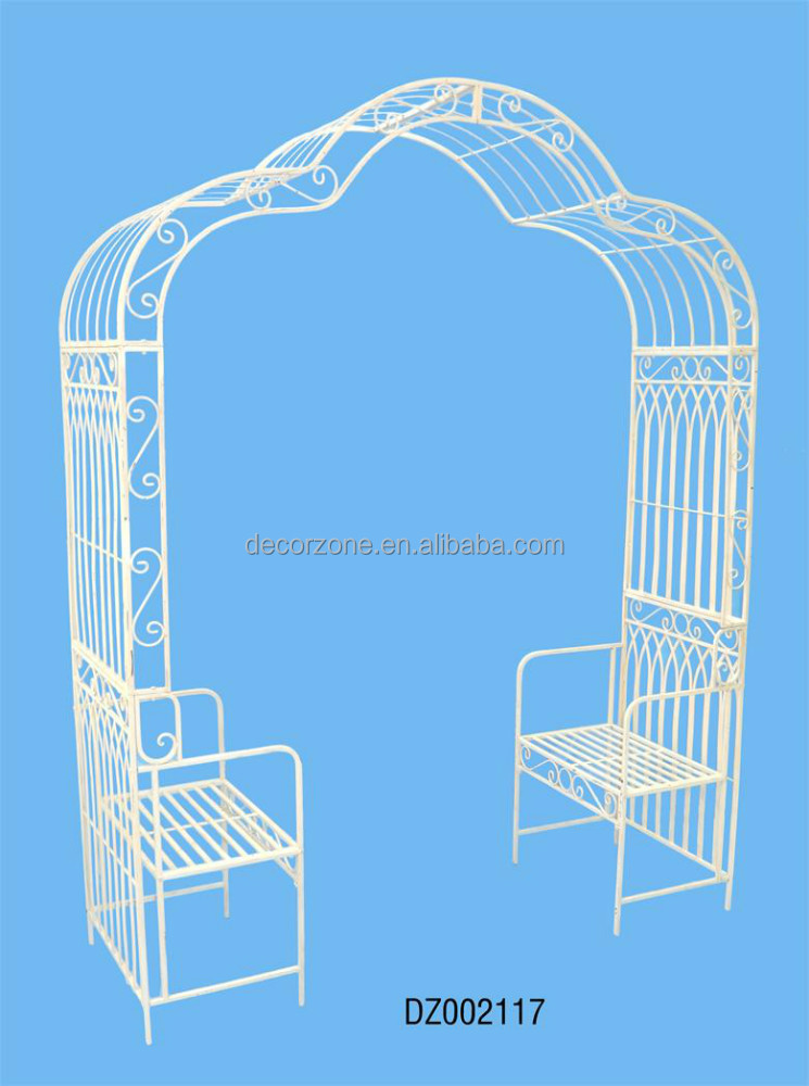 Good Quality K/D Outdoor Metal Pavilion With Chair