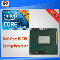 Hot Sell cpu processor plastic clamshell box tray I5 2450M 2.5G SR0CH computer cpu