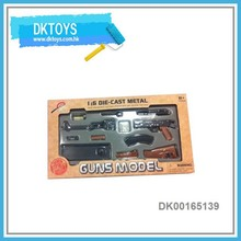 Newly 1:6 Scale Self Assembly Die Cast Toy Gun
