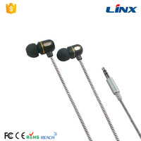factory industrial noise cancelling earphone cheap mobile phone headphone bee earphones