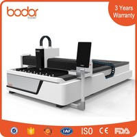 China fiber laser cutting machine 1530 for metal with top quality