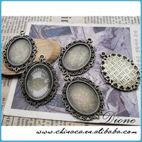 Trays Plus Cabochons Silver Or Brass Cabochon Setting, 30X40 Bezel Tray Outside Measuremen VI