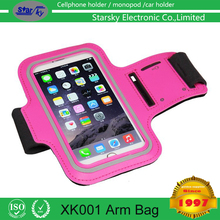 Arm PU Phone bag Arm Belt Leather Cover Universal Sport Running Arm Band Case For iPhone 6 Plus 5.5""