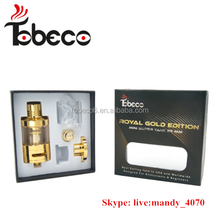 Tobeco 22mm and 25mm Gold mini super tank